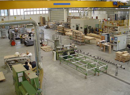 Stabilimento assemblaggio unitherm for Uniform alluminio